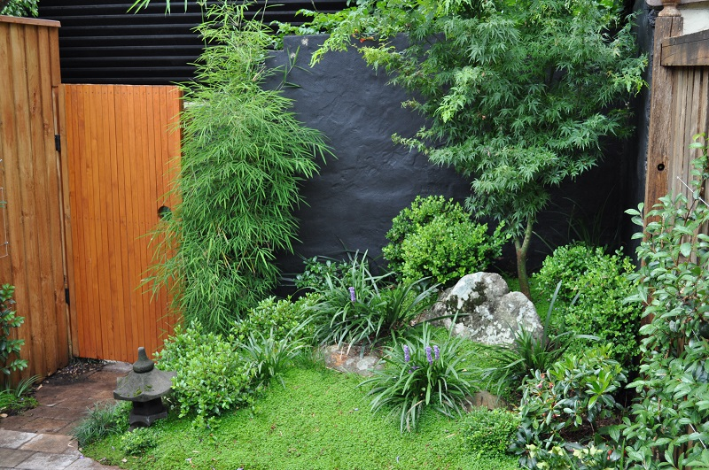 Japanese courtyard garden inner west sydney landscapers for Garden designs sydney