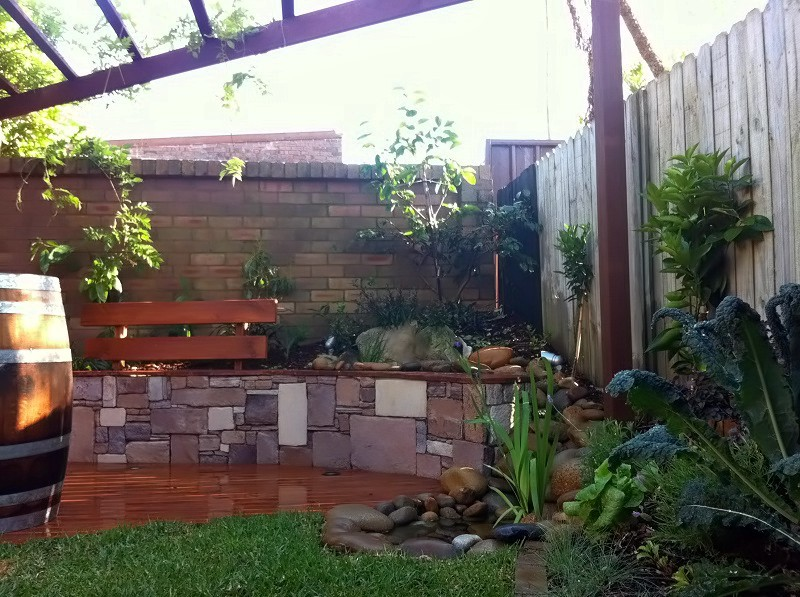 Courtyard garden inner west sydney landscapers sydney for Courtyard garden designs australia