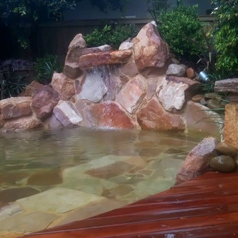 Water Feature Pond Avalon Newport