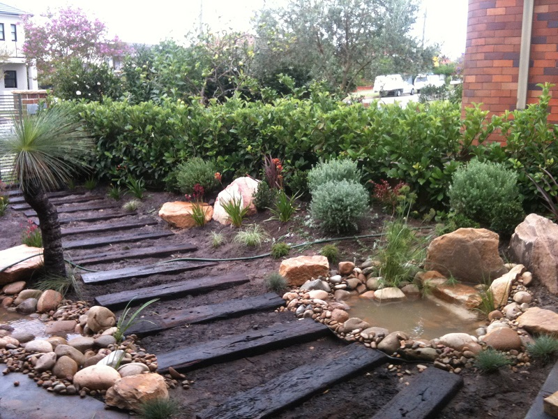Northern Beaches Modern Zen Native Garden Landscapers Sydney