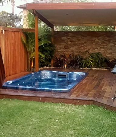 pool spa landscaping sydney