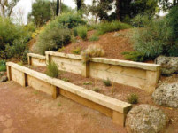 timber retaining walls sydney