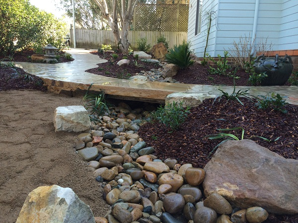 Before and after landscaping photos landscapers sydney for Landscape design jobs sydney