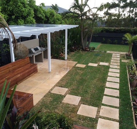 Modern Tropical Garden Design Northern Beaches Sydney