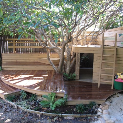Kids Cubby House Balgowlah. Play Garden.