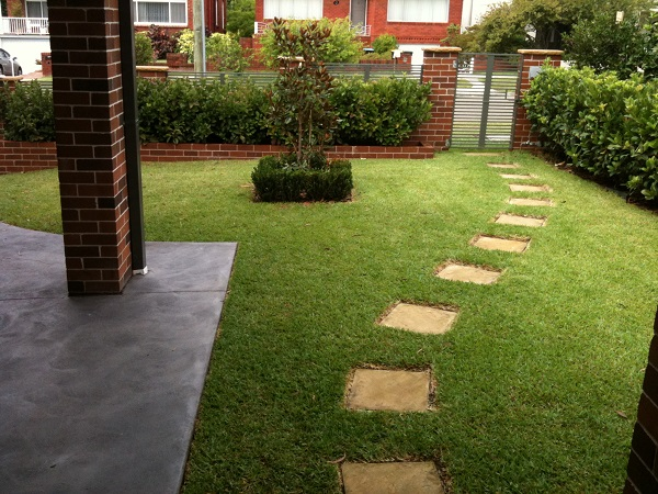 before-front-garden-path