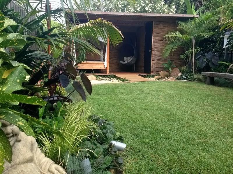 balinese garden pergola pavilion sydney