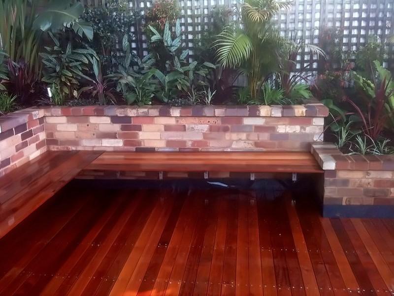 decking seating garden landscape sydney