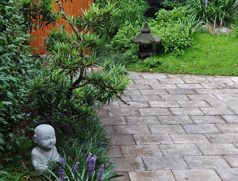 japanese courtyard garden