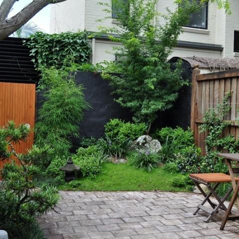 Japanese Courtyard Garden Glebe, Inner West Sydney
