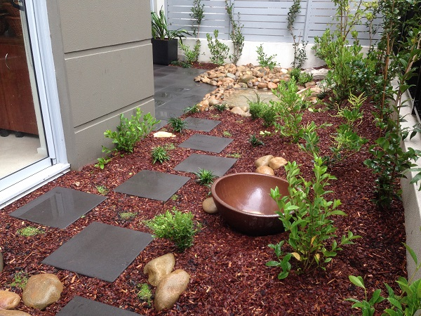 courtyard landscape garden design construction sydney