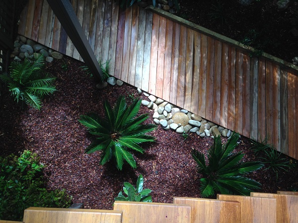 tropical courtyard garden design