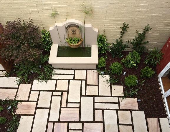 sydney landscaper courtyard garden design inner west