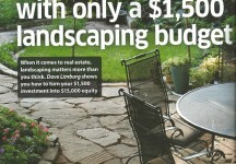 add value with landscaping