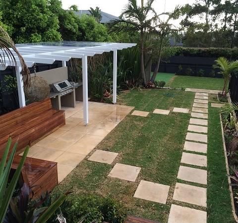 Modern Tropical Garden Design Northern Beaches Sydney