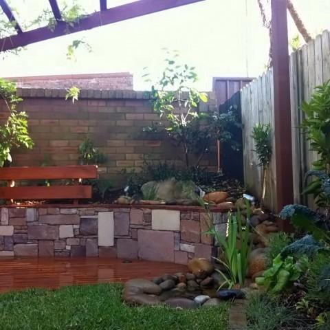 Courtyard Garden Inner West Sydney